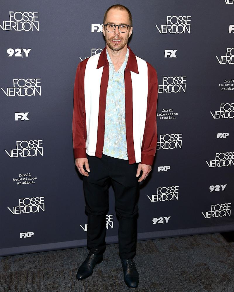Happy Friday to Sam Rockwell's jacket and Sam Rockwell's jacket only.