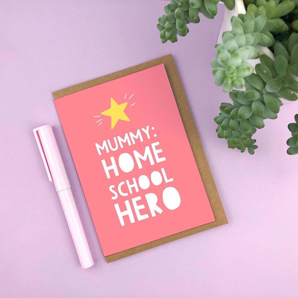 Home School Hero, Mother's Day, Etsy (Photo: Etsy)
