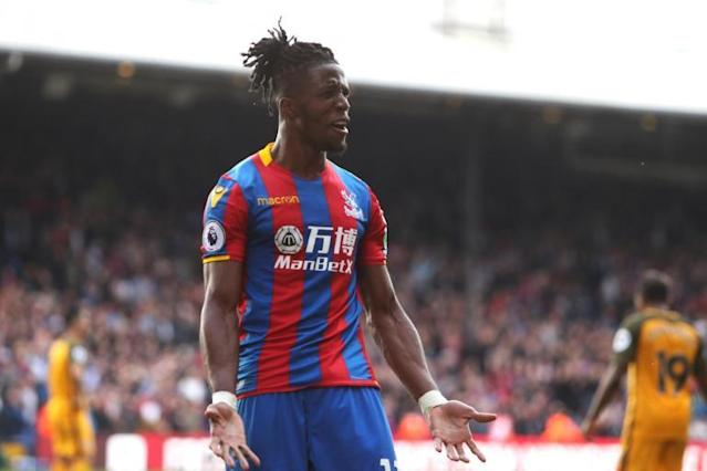 'Fantastic' Crystal Palace star Wilfried Zaha can reach level of Alexis Sanchez and Eden Hazard, claims Roy Hodgson