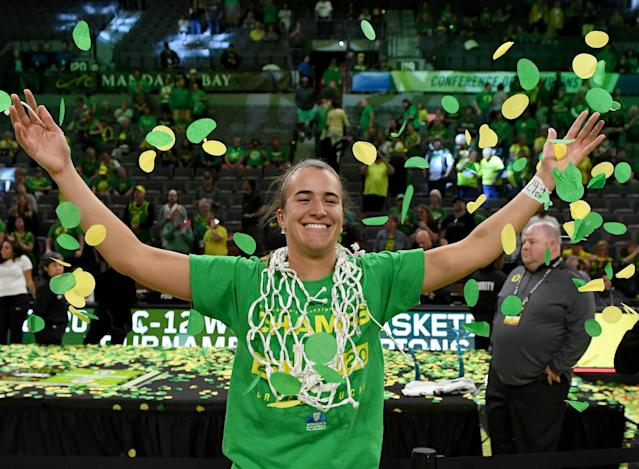 Oregon won the Pac-12 championship and was en route to an NCAA title game. (Ethan Miller/Getty Images)