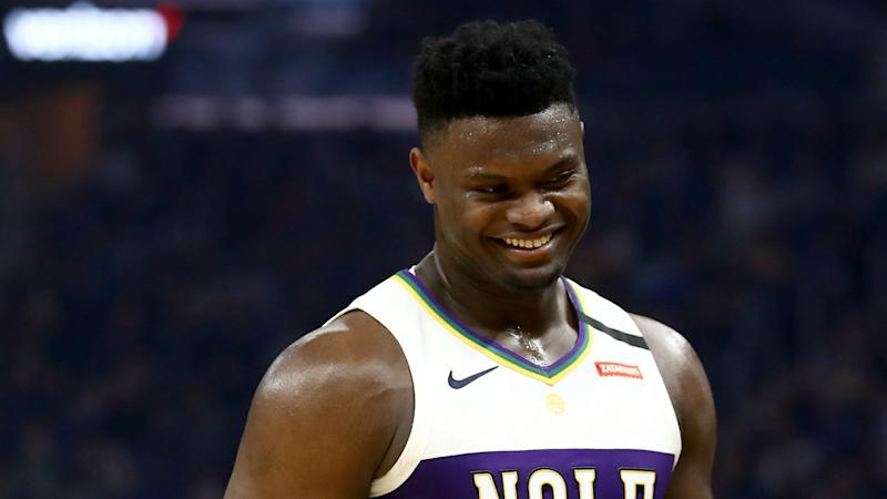 Zion Williamson fit to face Jazz in Pelicans' NBA opener