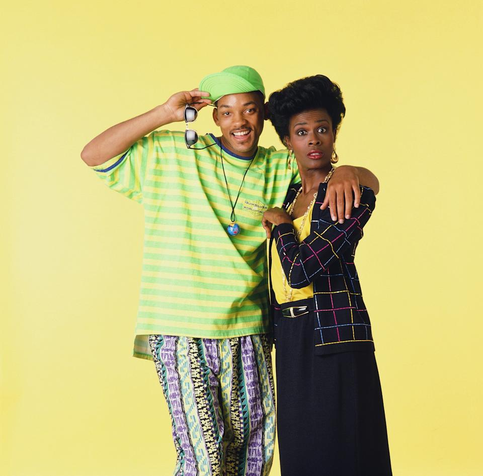 Taking it way back, in 1993 'Fresh Prince'viewers grew confused when Aunt Viv appeared to have had a full head transplant.<br /><br />This was due to a behind-the-scenes feud between leading man Will Smith and Janet Hubert, the original Aunt Viv.<br /><br />It's still not known exactly what went down between them, with Will and co-star Alfonso Ribeiro's version of events sounding noticeably different to Janet's, but what we do know is that, after some tension between the two, she wound up disappearing after three years, to be replaced by Daphne Maxwell Reid for the rest of the show's run.