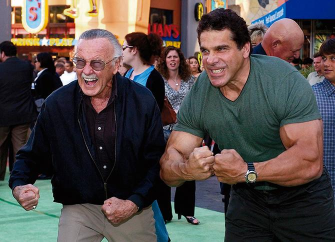 Stan Lee y Lou Ferrigno (Mark J. Terrill; Gtres)