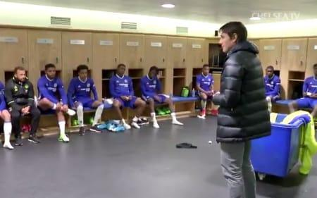 Antonio Conte addresses Chelsea's FA Youth Cup-winning players  - Chelsea TV