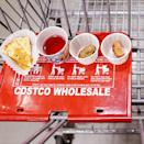 <p>But the people who give out samples are rarely Costco employees. These workers are contracted through third parties and are often paid much less.</p>