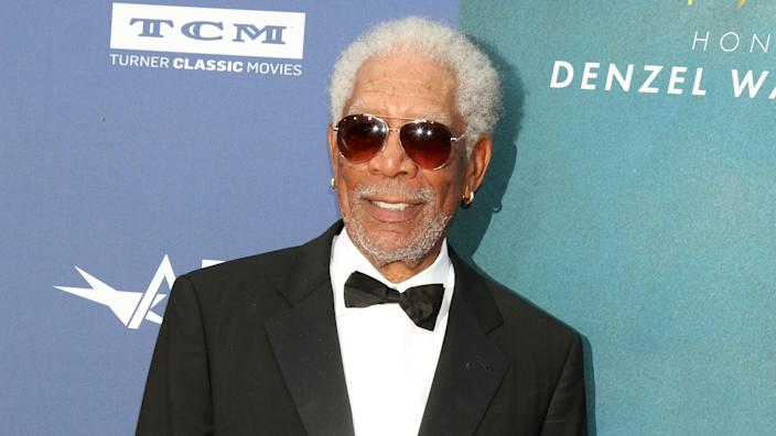 LOS ANGELES - JUN 6: Morgan Freeman at the AFI Honors Denzel Washington at the Dolby Theater on June 6, 2019 in Los Angeles, CA.