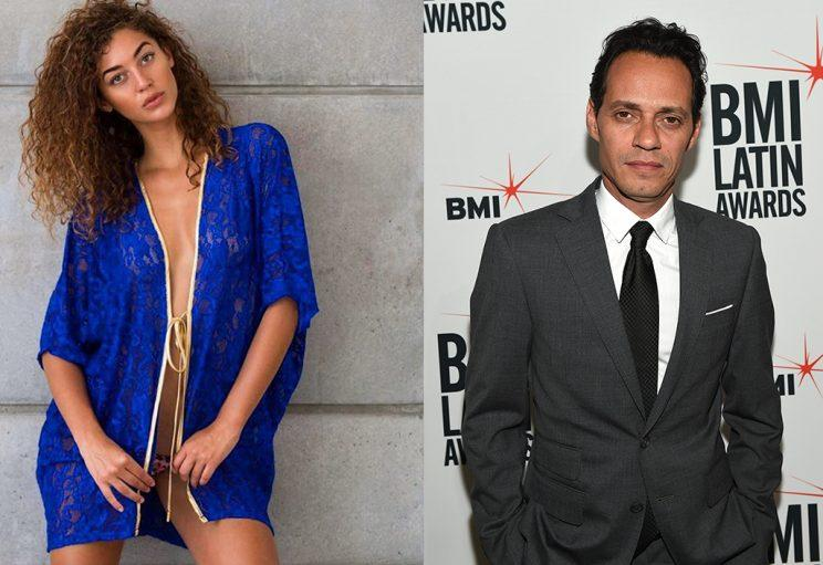 Marc Anthony's new gal pal is a model! (Photo: Mariana Downing/Instagram and Getty Images)