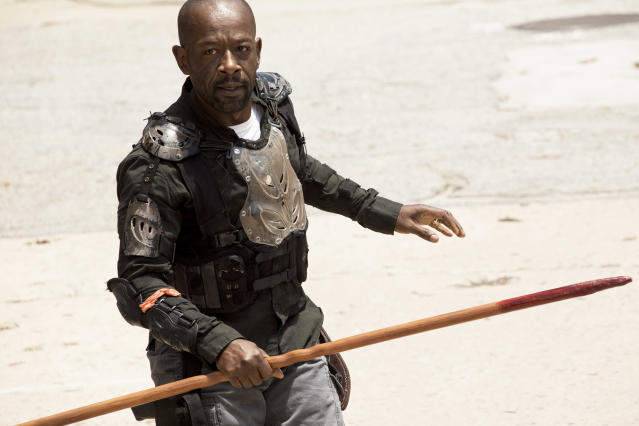 Lennie James as Morgan Jones in AMC's <i>The Walking Dead</i>. (Photo: Jackson Lee Davis/AMC)