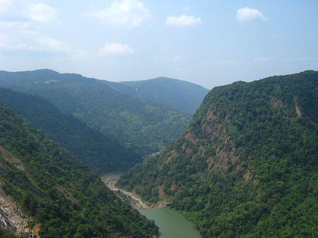 View of the Sharavathi River Valley