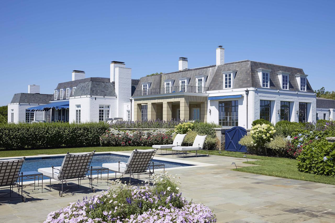 """<p>Originally built for the Ford family, Jule Pond's 42 acres comprise the largest ocean frontage in the Hamptons. After hitting the market in 2017 for $175 million, the <a href=""""https://www.williampitt.com/search/real-estate-sales/90-jule-pond-drive-southampton-ny-11968-x2128812-2128812/"""" target=""""_blank"""">Southampton property</a> is on sale once again, but this time for $145 million. </p><p>The expansive property has everything you'd imagine. There are 12 bedrooms, 12 bathrooms, a reception room that was imported from France, a six-car garage, private ocean beach access, and much more. </p><p>Scroll down for a look inside the private compound, which is co-listed by Ellen Stern of Julia B. Fee Sotheby's International Realty and the Hamptons firm, Bespoke.<br></p>"""