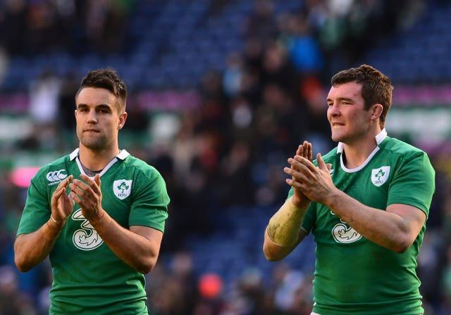 Peter O'Mahony, right, heaped praise on Munster and Ireland team-mate Conor Murray (Mark Runnacles/PA)
