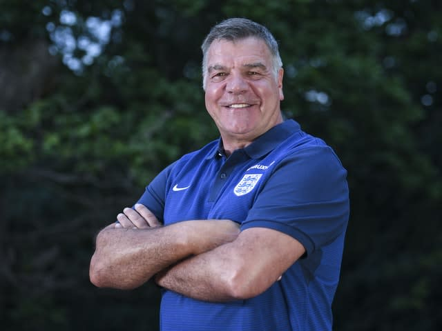 Allardyce was appointed England manager in 2016