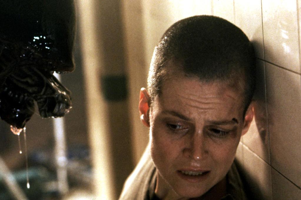 """<a href=""""http://movies.yahoo.com/movie/contributor/1800015109"""">SIGOURNEY WEAVER</a>, <a href=""""http://movies.yahoo.com/movie/1810108186/info"""">Alien 3</a>  The Alien star caused a bit of a ruckus when early photos of the flick first surfaced. When director David Fincher asked Weaver if she was OK with going bald, she reportedly quipped """"It's fine with me only as long as I get more money."""""""