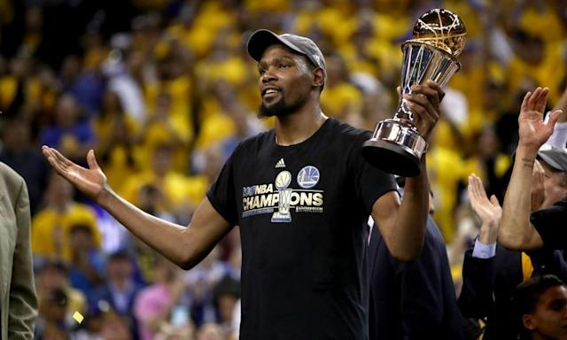 """<span class=""""element-image__caption"""">It's hard to see past the Warriors for the title again.</span> <span class=""""element-image__credit"""">Photograph: Ezra Shaw/Getty Images</span>"""