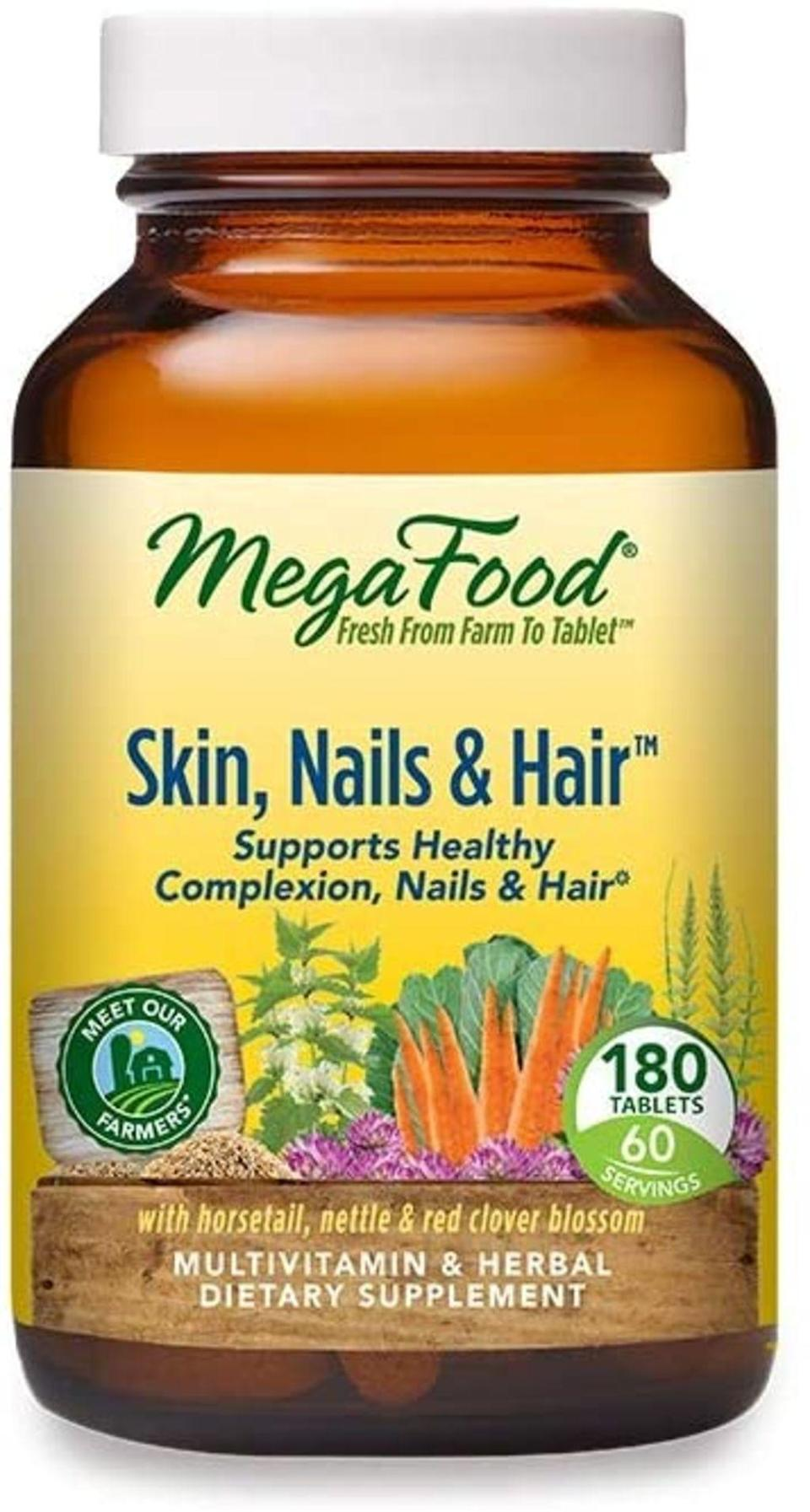 megafood, best biotin hair supplements
