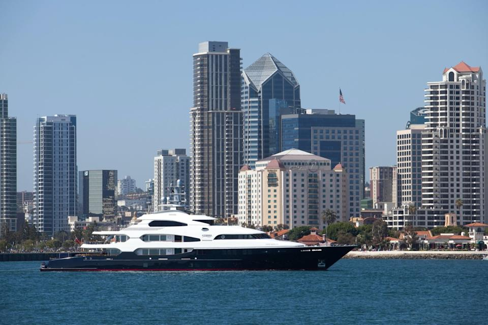This is the third Attessa built by billionaire Dennis Washington All have been Feadships.