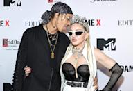 <p>Madonna gets some love from boyfriend Ahlamalik Williams at the world premiere of her <em>Madame X, </em>presented by Ketel One Vodka, at the Paradise Club & Theater at The Edition Hotel Times Square in N.Y.C. on Sept. 23.</p>