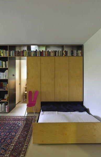 The most amazing space saving beds for Apartment therapy murphy bed