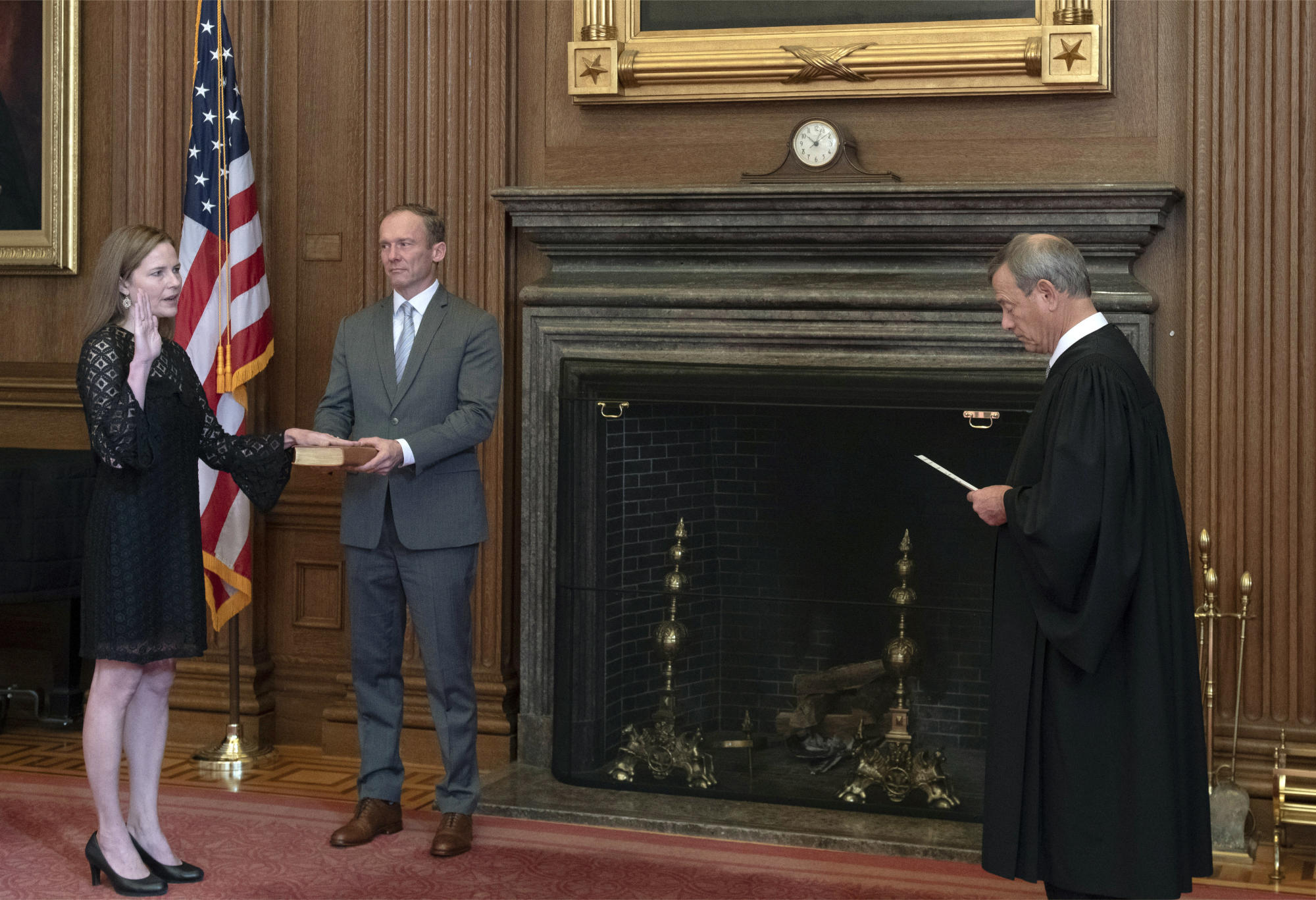Barrett to join Supreme Court arguments for the first time