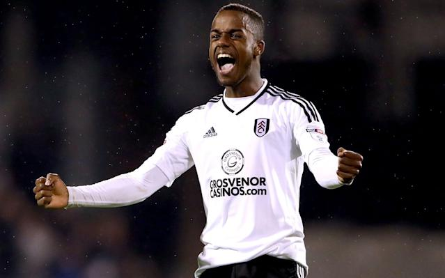 """Tim Ream, the Fulham defender, has hailed Ryan Sessegnon as a unique talent after the teenager guided his side to the Championship play-off final. Sessegnon, who turns 18 on Friday, scored the first goal and created the second as Fulham overturned a 1-0 first-leg deficit to defeat Derby County and record the first play-off win in their history. Sessegnon is Fulham's top scorer with 16 goals this season, and Ream likened the left winger to a """"sponge"""" who plays with the maturity of a veteran. """"First and foremost, he has done some incredible things this season,"""" said Ream. """"There is no doubting his talent and his ability and his work-rate and his attitude. It's something that you don't often see with young players these days. """"He's completely different to any of the young players who are up and coming, in every aspect of his game. Ryan Sessegnon scored Fulham's first goal against Derby to help secure their place in the play-off final Credit: Reuters """"He's the quietest kid I have ever met. I liken him to a sponge: he takes everything on board. """"You can't argue with his approach this year. It is just amazing what he has done and what he continues to do."""" The play-off final will be Fulham's first trip to Wembley in 43 years, and Ream added: """"I don't see why playing at Wembley is going to be any different for him. """"I have never seen a kid so calm in the face of the media. He does not yearn for the limelight. He does not want it, or rather he does not ask for it. He just goes about his business and does his own thing. Pick your England World Cup 2018 squad """"Nobody needs to change him. He has taken everything as it comes this year and done it like a 35-year-old veteran. It's amazing."""" Ream added that Slavisa Jokanovic's side, who finished third in the Championship after a 23-game unbeaten run was ended on the final day of the season, had """"no fear"""" ahead of the play-off final. """"You don't go 23 games unbeaten without being confident,"""" he said. """"Obviously we rode our luck in so"""