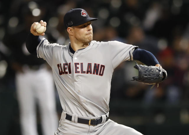 Cleveland Indians ace Corey Kluber is looking to become a three-time Cy Young award winner. (AP)