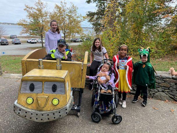 PHOTO: Magic Wheelchair is a non-profit that creates epic costumes for kids that use wheelchairs. (Magic Wheelchair)