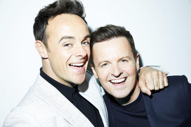 Ant and Dec have learned they are related (Credit: ITV)