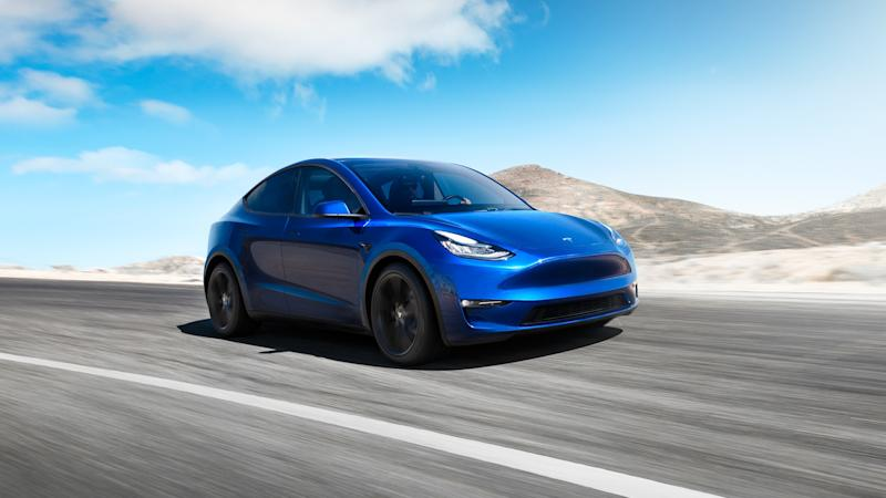 New Tesla Model Y Electric Vehicle