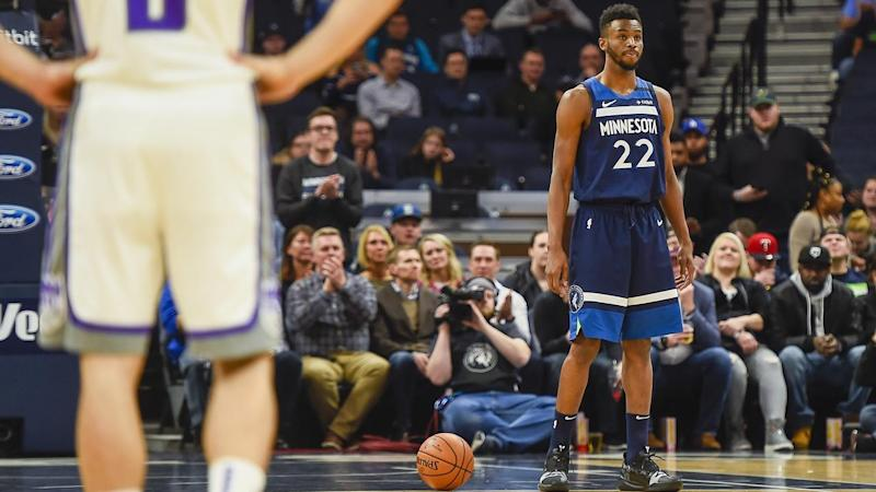 Andrew Wiggins led a poignant tribute to Kobe Bryant's scoring feats