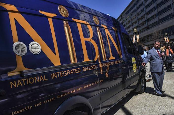 ATF unveils its mobile ballistics van in March 2017 in Washington, D.C. (Photo: Bill O'Leary/The Washington Post via Getty Images)