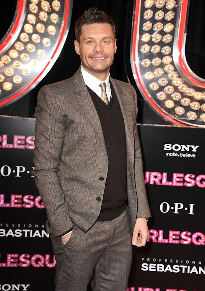 "December 24: Ryan Seacrest turns 36 Steve Granitz/<a href=""http://www.wireimage.com"" target=""new"">WireImage.com</a> - November 15, 2010"