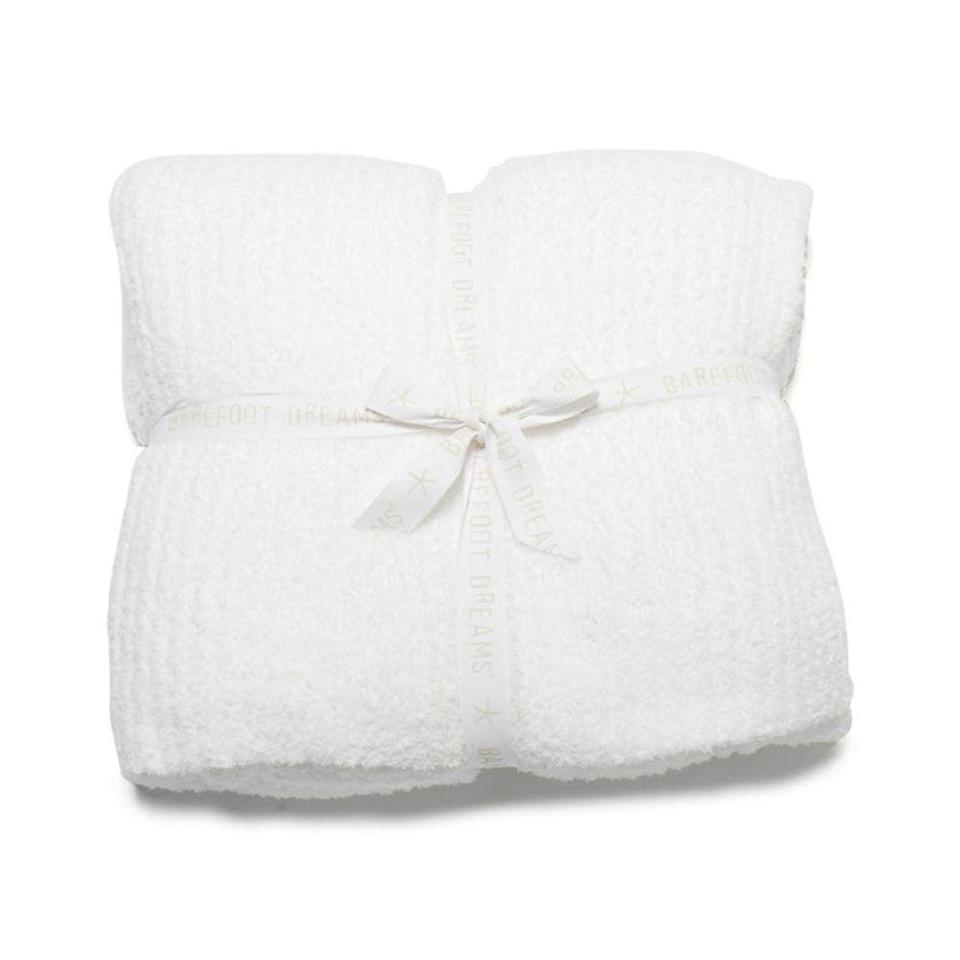 """<p><strong>Barefoot Dreams</strong></p><p>nordstrom.com</p><p><strong>$198.00</strong></p><p><a href=""""https://go.redirectingat.com?id=74968X1596630&url=https%3A%2F%2Fwww.nordstrom.com%2Fs%2Fbarefoot-dreams-cozychic-ribbed-throw-blanket%2F4853548&sref=https%3A%2F%2Fwww.elle.com%2Ffashion%2Fshopping%2Fg32178546%2Fgifts-for-grandma-ideas%2F"""" rel=""""nofollow noopener"""" target=""""_blank"""" data-ylk=""""slk:Shop Now"""" class=""""link rapid-noclick-resp"""">Shop Now</a></p><p>A throw will keep her feeling cozy 24/7. </p>"""