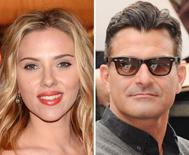 Scarlett Johansson and Nate Naylor -- Getty Images
