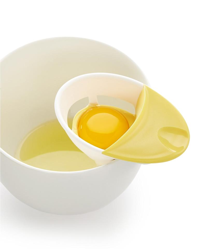 """<p>This <a href=""""https://www.popsugar.com/buy/Martha-Stewart-Collection-Egg-Separator-493736?p_name=Martha%20Stewart%20Collection%20Egg%20Separator&retailer=macys.com&pid=493736&price=9&evar1=yum%3Aus&evar9=46670854&evar98=https%3A%2F%2Fwww.popsugar.com%2Ffood%2Fphoto-gallery%2F46670854%2Fimage%2F46671293%2FMartha-Stewart-Collection-Egg-Separator&list1=shopping%2Cgadgets%2Ckitchens%2Chome%20shopping&prop13=api&pdata=1"""" rel=""""nofollow"""" data-shoppable-link=""""1"""" target=""""_blank"""" class=""""ga-track"""" data-ga-category=""""Related"""" data-ga-label=""""https://www.macys.com/shop/product/martha-stewart-collection-egg-separator-created-for-macys?ID=4768567&amp;CategoryID=31839"""" data-ga-action=""""In-Line Links"""">Martha Stewart Collection Egg Separator</a> ($9) is so handy.</p>"""