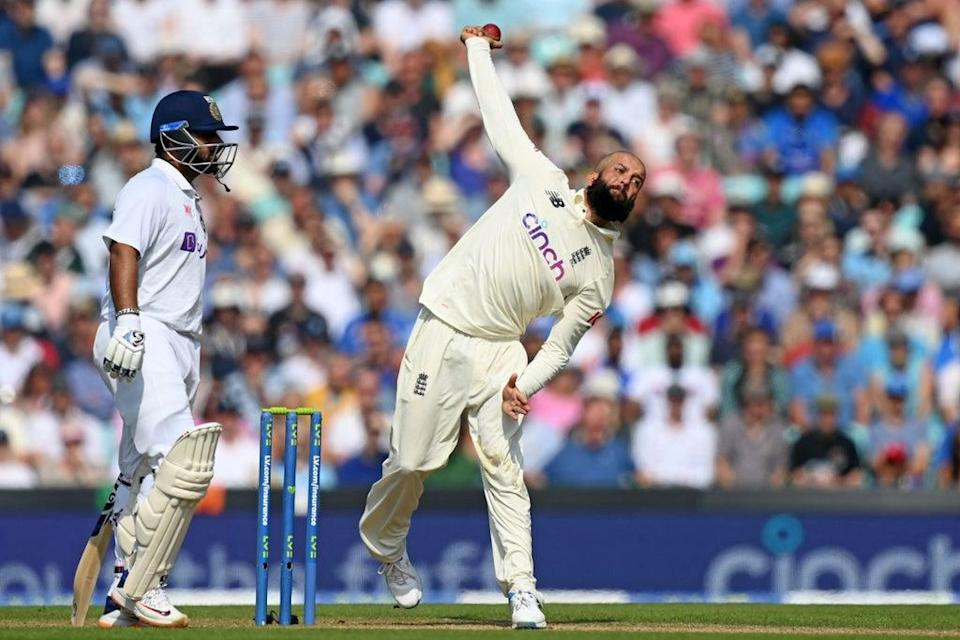 Ali finished five wickets shy of 200 in Test cricket as an unlikely successor to Graeme Swann (AFP via Getty Images)