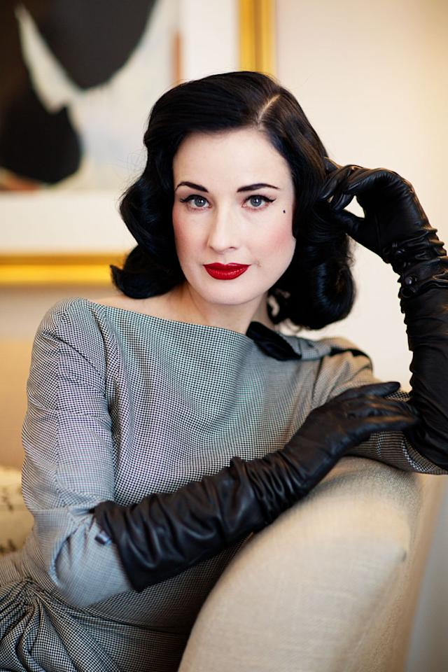 """<div class=""""caption-credit""""> Photo by: Elizabeth Griffin</div><div class=""""caption-title"""">Past Presence</div>""""I love perfumes of the past,"""" said Dita Von Teese, who released two fragrances of her own this spring. """"Once upon a time, there were perfumes that didn't smell like little girls and candy and sweetness and vanilla. I mean, Marlene Dietrich would not have worn a perfume that had vanilla in it. And so many celeb scents smell like stripper spray. I'm a stripper and I work in strip clubs, but I don't want to douse myself in it and smell like one! Some of my favorite perfumes are Quelques Fleurs and Lancôme Magie Noire. Jean Paul Gaultier Classique is also so nice; it smells like makeup."""" <br> <b><br> MORE ON ELLE.COM:</b> <br> <b><a rel=""""nofollow"""" target="""""""" href=""""http://www.elle.com/beauty/the-look-summer-hairstyles-657514?link=rel&dom=yah_life&src=syn&con=blog_elle&mag=elm"""">16 Trendy Ways to Wear Your Hair This Summer</a> <br> <a rel=""""nofollow"""" target="""""""" href=""""http://www.elle.com/beauty/makeup-skin-care/skin-deep-how-to-get-model-skin-543214?link=rel&dom=yah_life&src=syn&con=blog_elle&mag=elm"""">17 Best Skin Tips from</a></b>"""