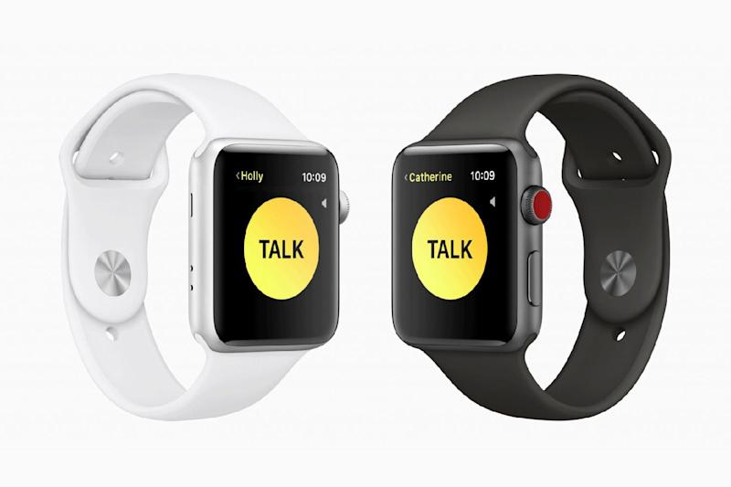 The new Walkie Talkie Mode lets your chat with your friends on Apple Watch: Apple