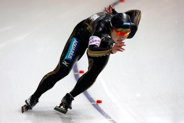 <p>Japan's Sayuri Osuga competed in both the 2002 and 2006 Winter Games as a speed skater. (Getty) </p>