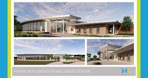 Cooper Wellness Strategies, a Cooper Aerobics company, announces a partnership with Franklin Foundation Hospital in Franklin, Louisiana. Cooper Wellness Strategies (CWS) will help develop a new medical fitness center located on the hospital campus as an integral part of a planned wellness center, shown in this rendering. CWS work includes facility design, planning and management of the fitness center, slated to open in late 2022.