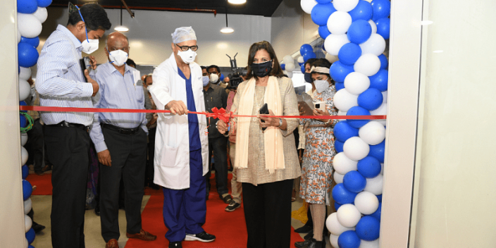 Inauguration of MSMF MedTech Innovation Centre at Narayana Health City in Bengaluru.