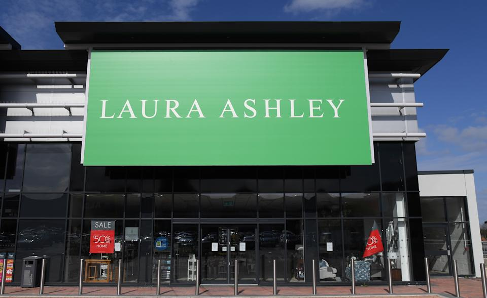 Laura Ashley will be relaunching under new owners Gordon Brothers, who acquired the brand in April. Photo: Ross Kinnaird/Getty Images