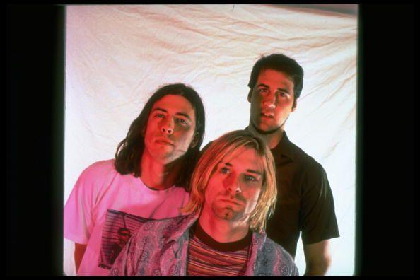 <p>Kurt Cobain with fellow Nirvana bandmates Krist Novoselic and Dave Grohl in 1993. They have sold over 25 million records in the United States and over 75 million records worldwide.</p>