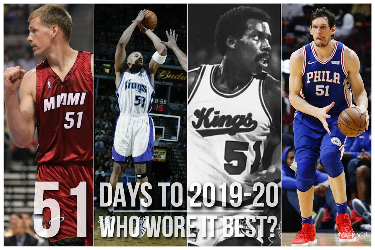 NBA Countdown: Which player wore No. 51 best in league history?