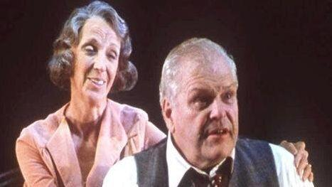 """Brian Dennehy, a versatile stage and screen actor known for action movies, comedies and classics, but especially for his Tony Award-winning performances in """"Death of a Salesman"""" in 1999 (seen here withElizabeth Franz) and """"Long Day's Journey Into Night"""" in 2003, died on April 15, 2020. He was 81."""