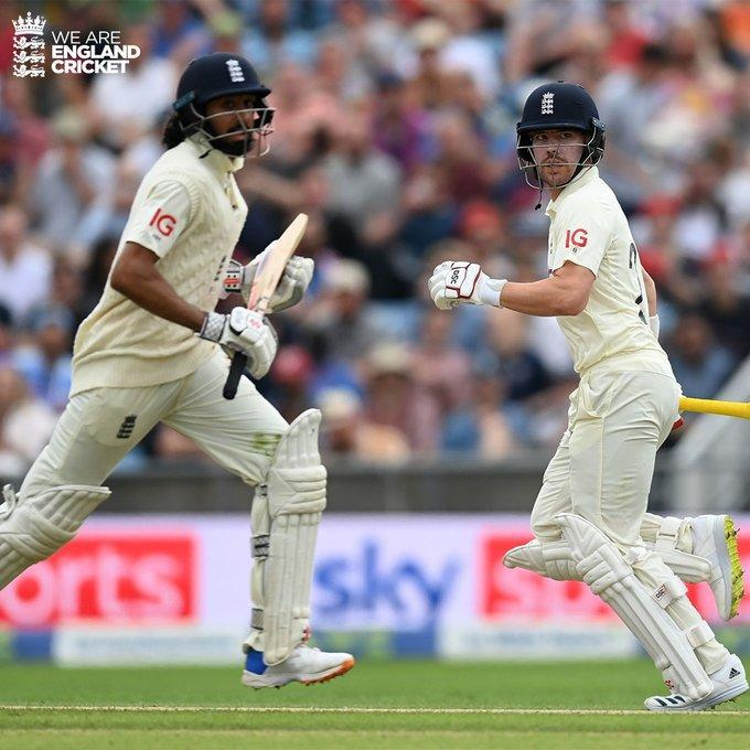 Rory Burns and Haseeb Hameed