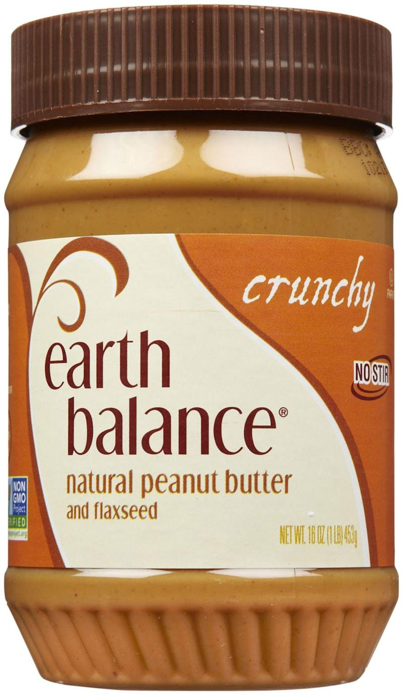 Earth Balance Peanut Butter Crunchy With Flax Seed