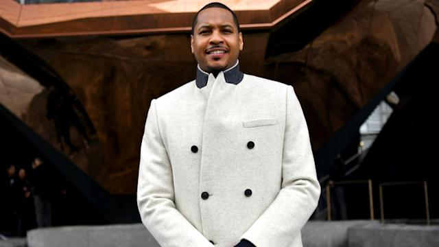 Veteran forward Carmelo Anthony could make his Portland Trail Blazers debut against the New Orleans Pelicans on Tuesday.