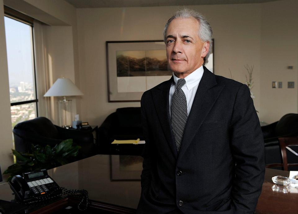 Mandatory Credit: Photo by Kevork Djansezian/AP/Shutterstock (6364117b)Mark Vincent Kaplan CUSTODY**Attorney Mark Vincent Kaplan at his office in the Century City section of Los Angeles, .