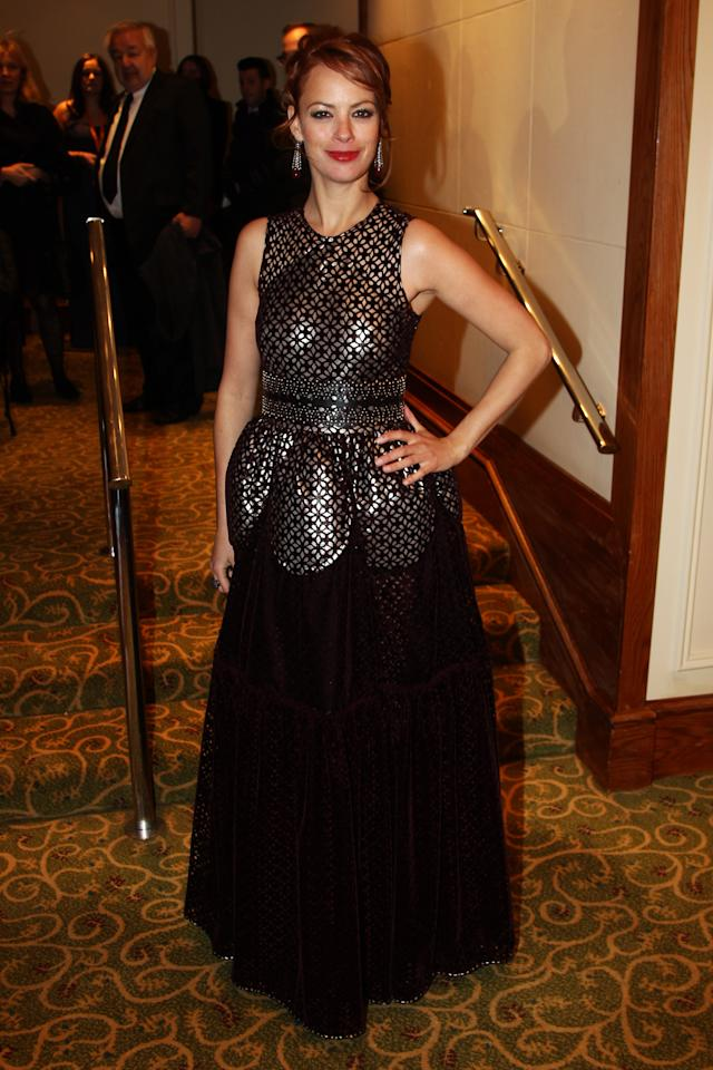 LONDON, ENGLAND - FEBRUARY 12:  (UK TABLOID NEWSPAPERS OUT) Bérénice Bejo attends The Orange British Academy Film Awards 2012 afterparty at The Grosvenor House Hotel on February 12, 2012 in London, England.  (Photo by Dave Hogan/Getty Images)
