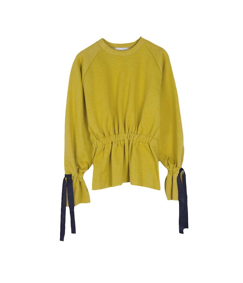 "<p>Sweater H491, $48, <a rel=""nofollow"" href=""https://www.oakandfort.com/SWEATSHIRT-H491?quantity=1&custcol1=6"">oakandfort.com</a> </p>"